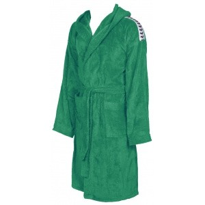 Arena badjas Core soft robe green-white