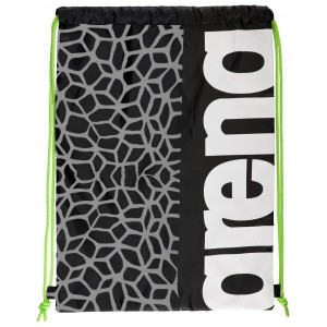 Arena Swimbag black-x-pivot-fluo-green