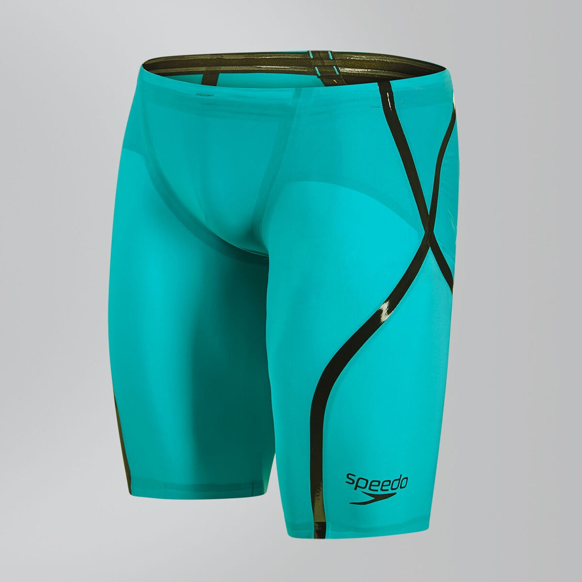 Speedo Wedstrijdjammer LZR Racer X high waist green/black