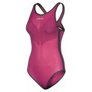 Arena Powerskin Carbon Duo Top Pink