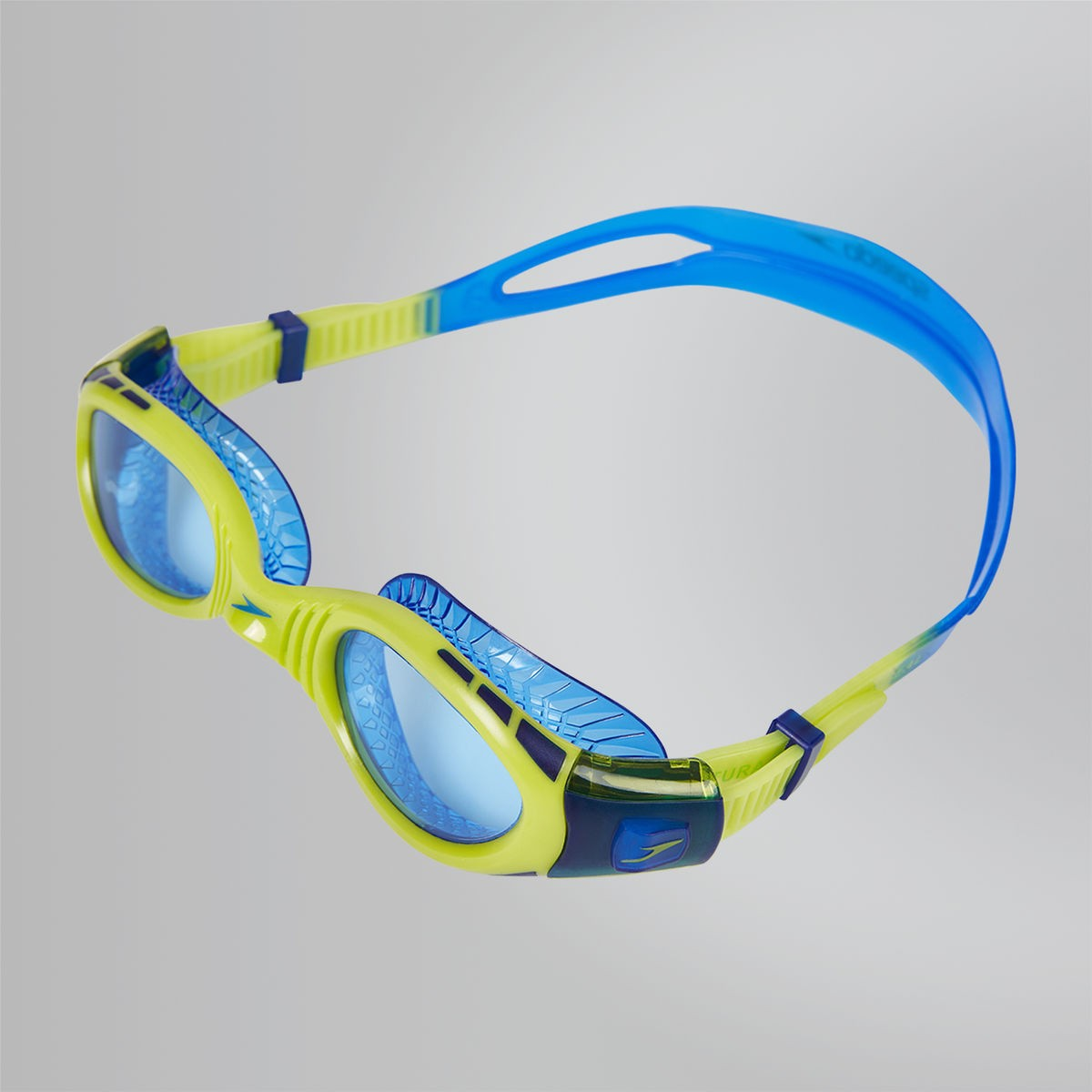 Speedo Zwembril Futura Biofuse Flex JR blue