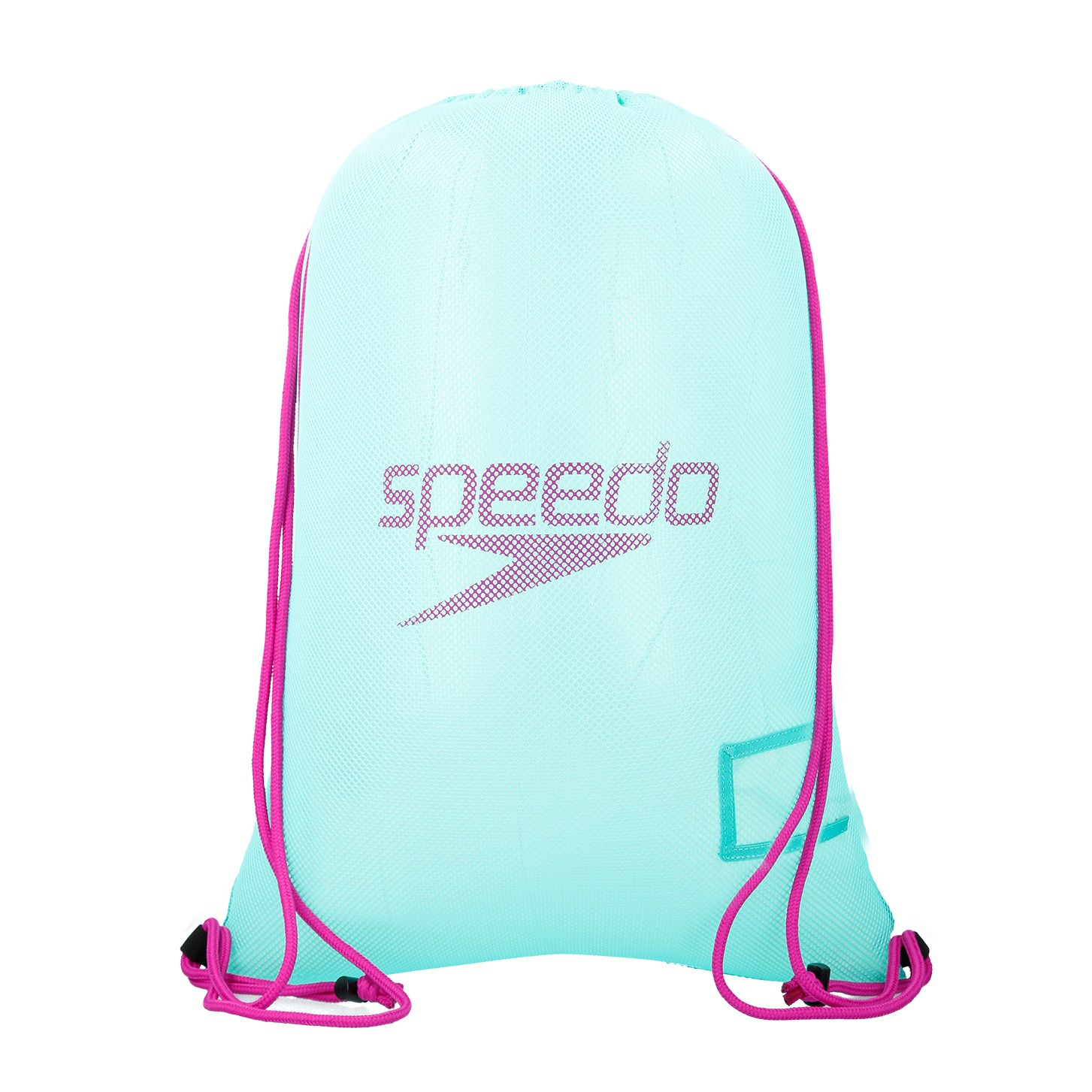 Speedo mesh bag green-purple