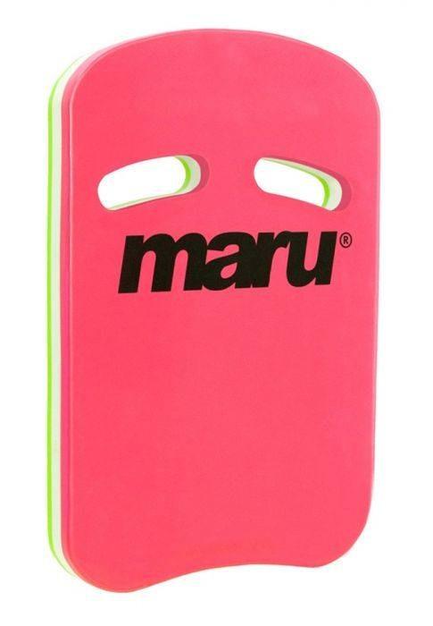 Maru Two Grip kickboard roze groen