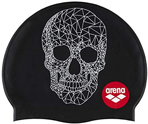 Arena Badmuts Silicone Print 2 Crazy pop skull