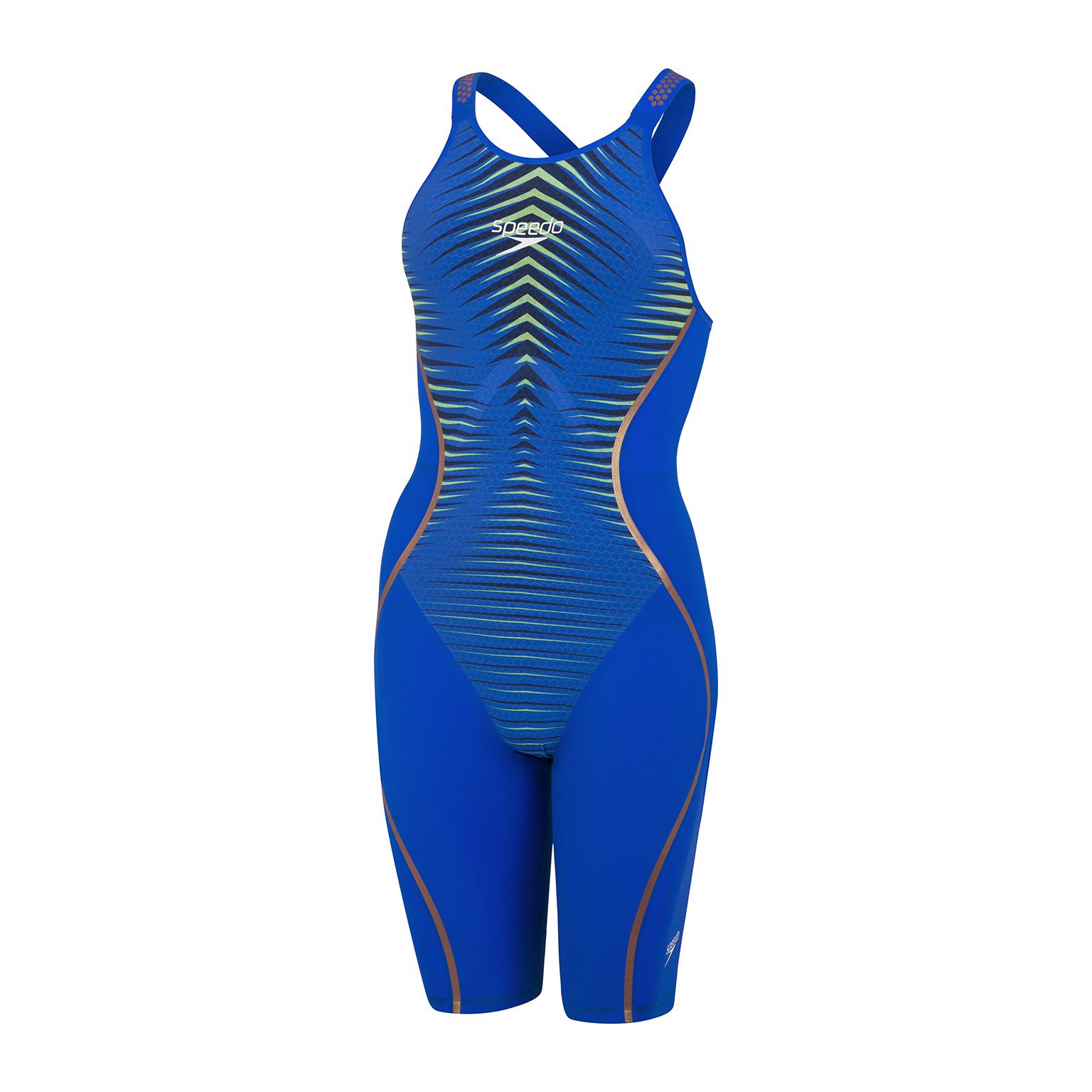 Speedo wedstrijdbadpak LZR Pure Intent OB blue/green