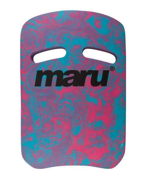 Maru Two Grip Kickboard blauw/ roze