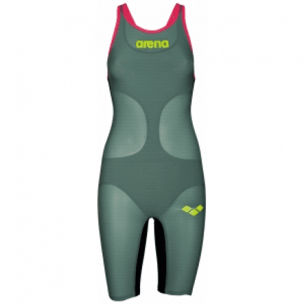 Arena Wedstrijdpak Carbon Air Dark Green open back