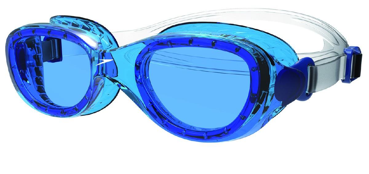 Speedo Junior Zwembril Futura Cl. Clear/blue