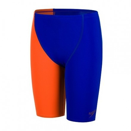 Speedo jammer End High Waist JR Blauw-Oranje