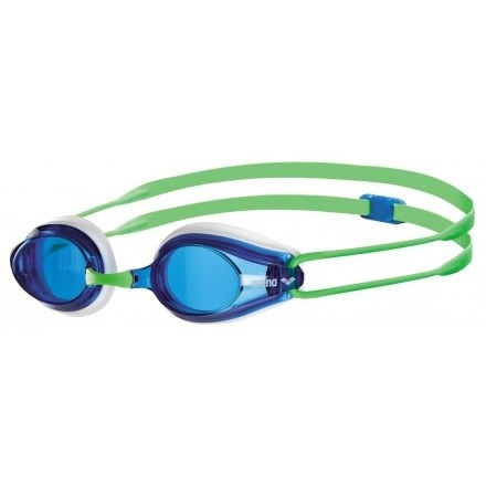 Arena Zwembril Tracks Racing white/blue/green