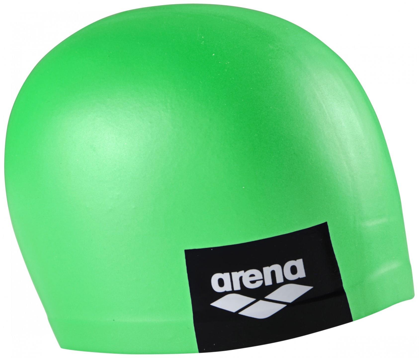 Arena badmuts logo moulded pea-green