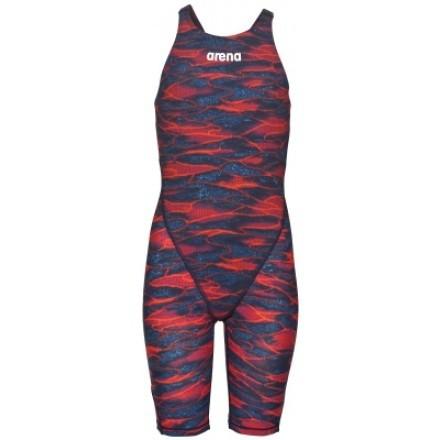Arena meisjes Wedstrijdbadpak Powerskin ST 2.0 JR Limited Edition blue/red