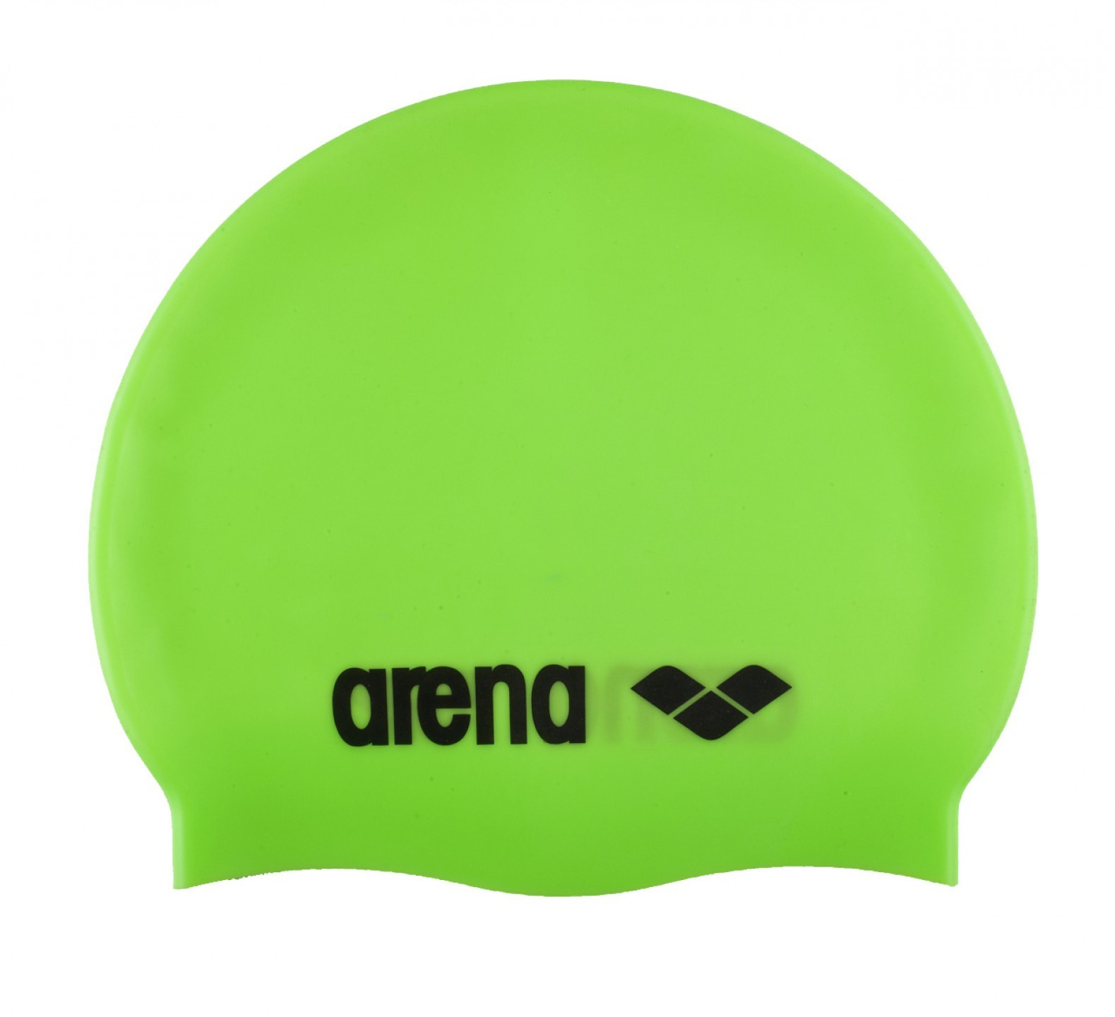 Arena badmuts silcone acid-lime, black