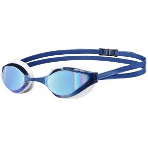 Arena zwembril Python Mirror blue-mirror/white