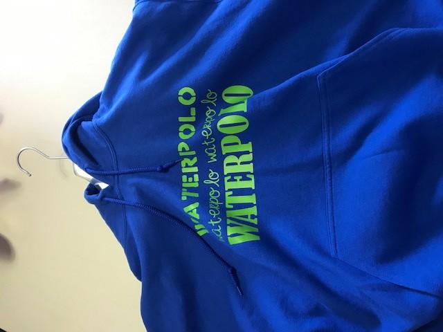 Gildan hooded sweater met Waterpolo Afbeelding