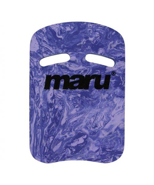 Maru Two Grip Swirl kickboard purple