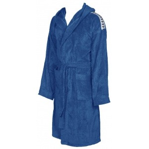 Arena badjas soft robe royal-white