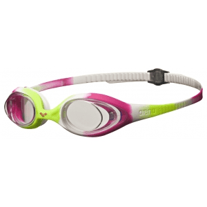 Arena zwembril Spider Jr lime/fuchsia/white/clear