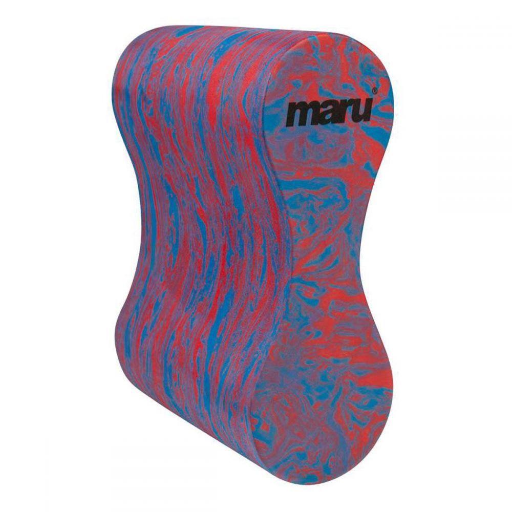 Maru Swirl Pull Buoy Blue/Red