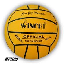 Winart Waterpolobal mt. 4 geel