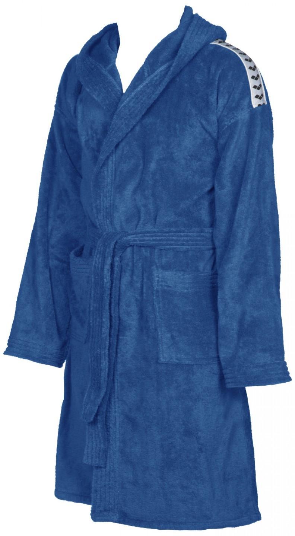 Arena badjas core soft junior royal blauw