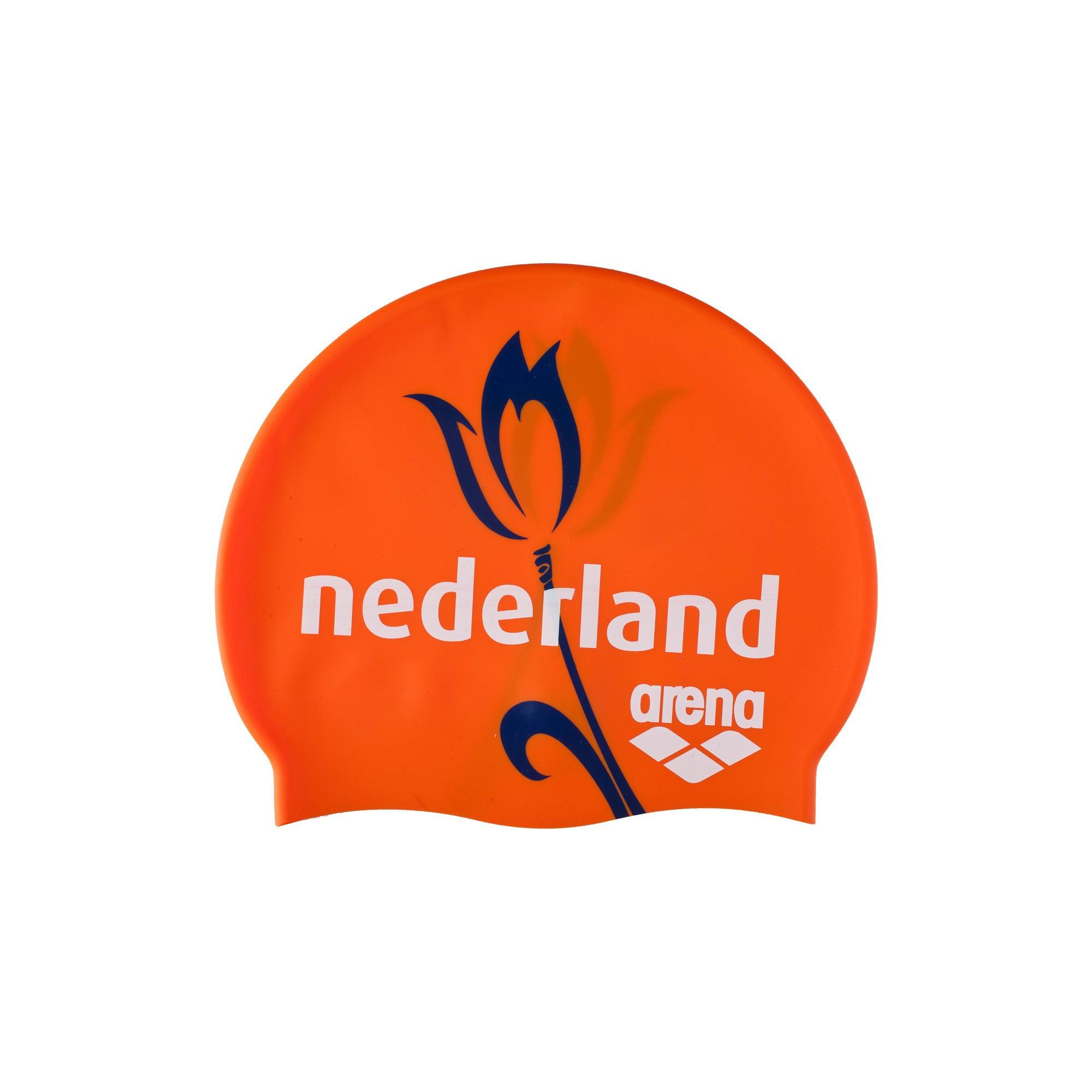 Arena silicone cap orange Nederland