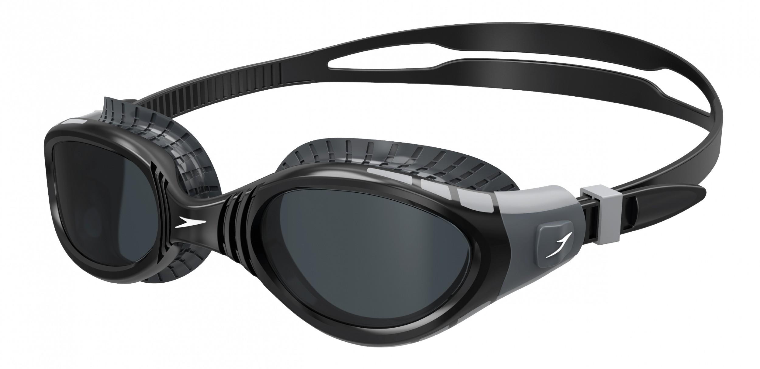 Speedo zwembril Biofuse Flexiseal zwart