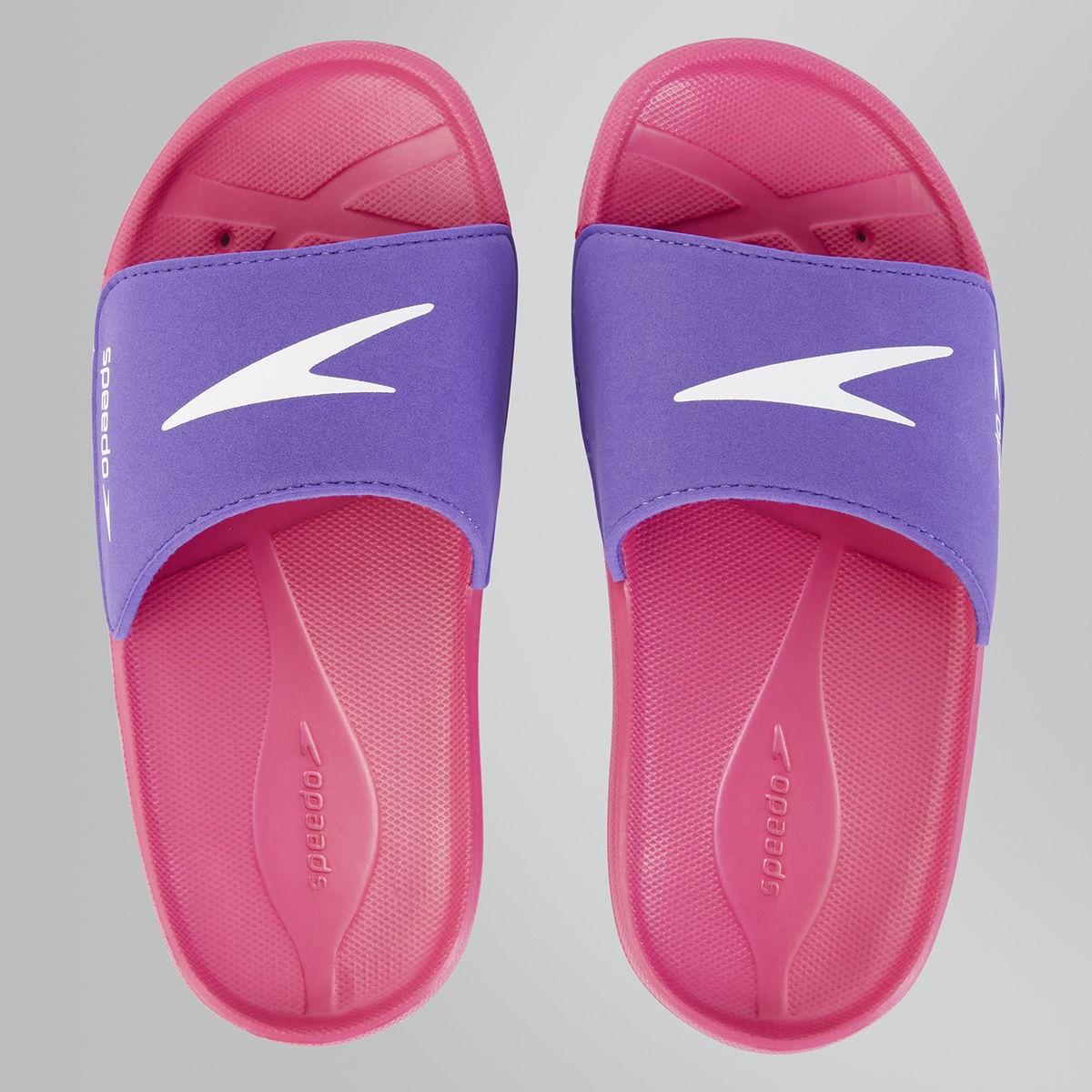 Speedo Atami Core jr pink-purple