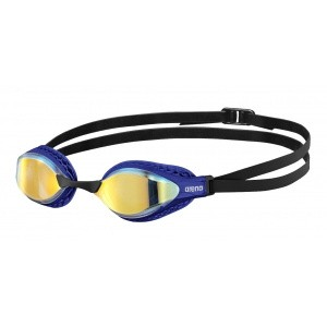 Arena zwembril Airspeed mirror yellow-copper-blue
