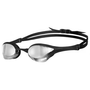Zwembril Cobra Ultra Mirror silver-black-black