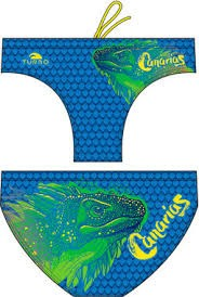 Turbo Waterpolobroek Iguana Canary