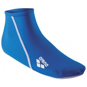 Arena Pool Socks blue anti slip