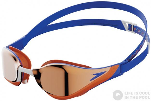 Speedo Zwembril Pure Focus Mirror Blu/Red