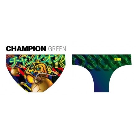 Emo waterpolobroek Champion Green