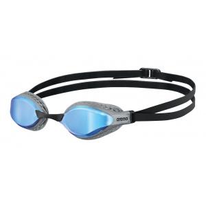 Arena zwembril Airspeed mirror blue-zilver