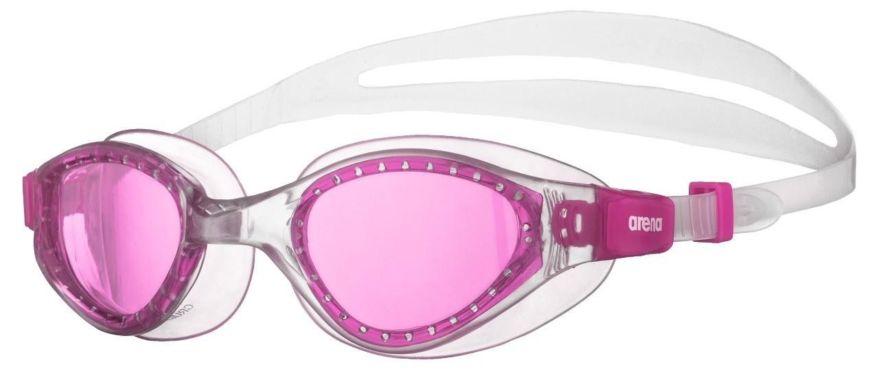 Arena zwembril Evo junior fuchsia-clear-clear