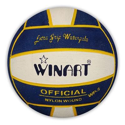 Winart Waterpolobal navy/white/navy mt. 4