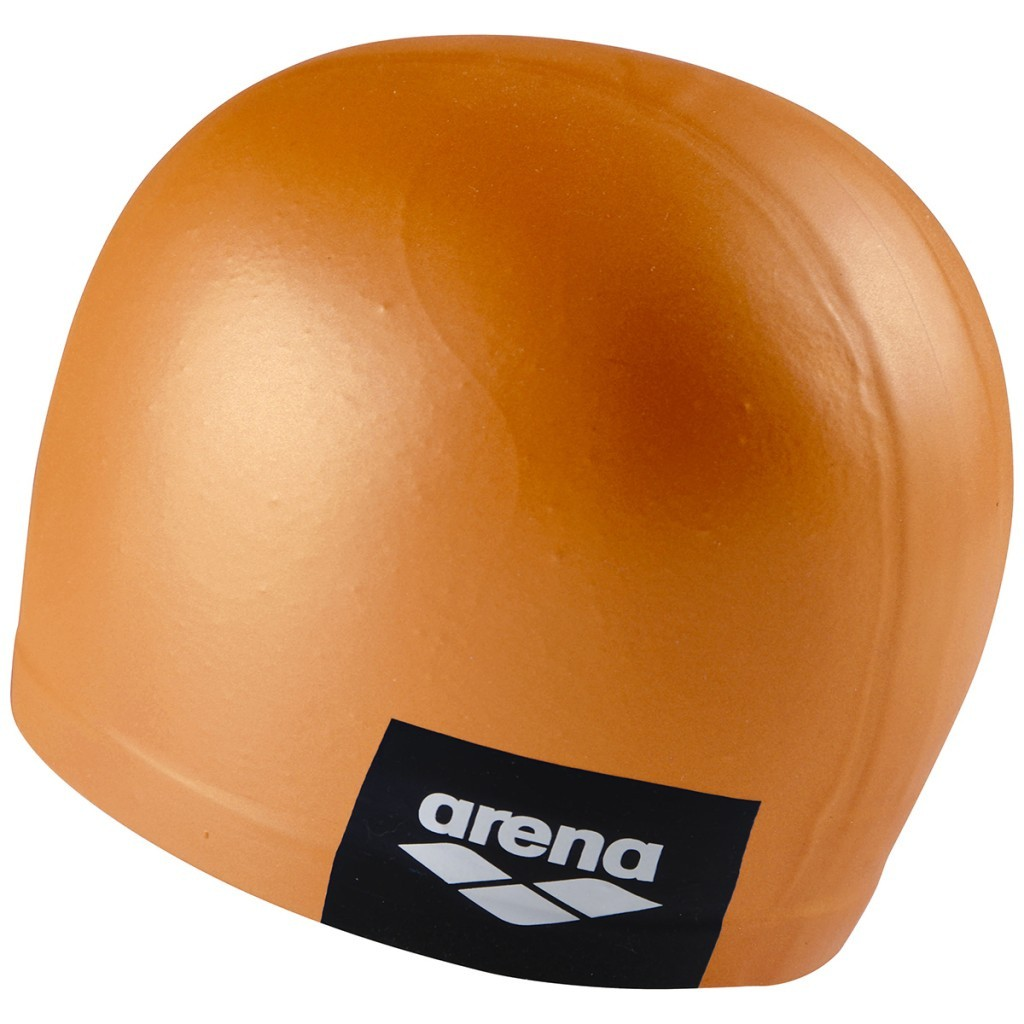 Arena badmuts logo moulded pinkish-orange