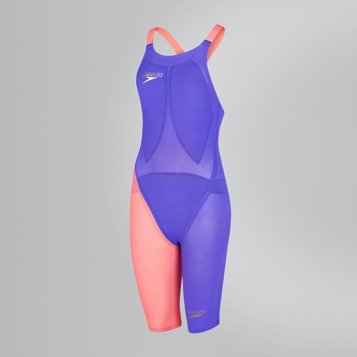 Speedo wedstrijdbadpak LZR Elite 2 OPBK purple/red