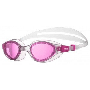 Arena zwembril Cruiser Evo junior fuchsia-clear-clear