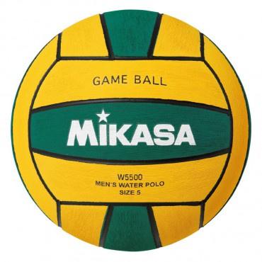 Mikasa Waterpolobal W5500GRE no. 5 groen/geel