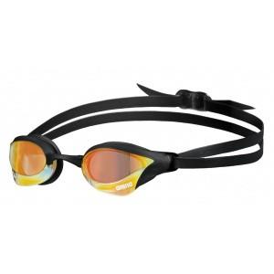 Arena zwembril Cobra Core Swipe mirror yellow-copper-black