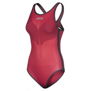 Arena Powerskin Carbon-Duo Top jester red