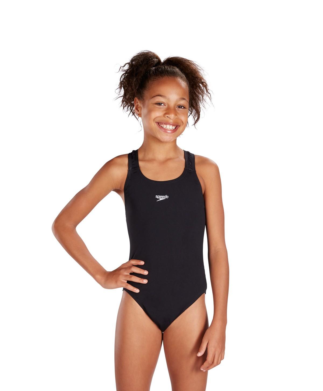 Speedo meisjesbadpak Medallist Zwart