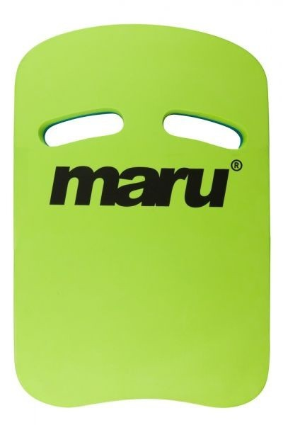 Maru Two Grip kickboard groen blauw