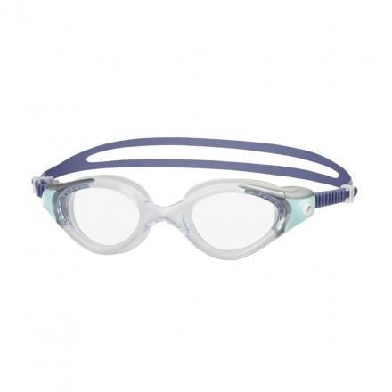 Speedo zwembril Futura Biofuse 2 Grey/Blue Dames