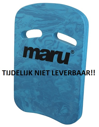 Maru two grip Kickboard dark blue-blue