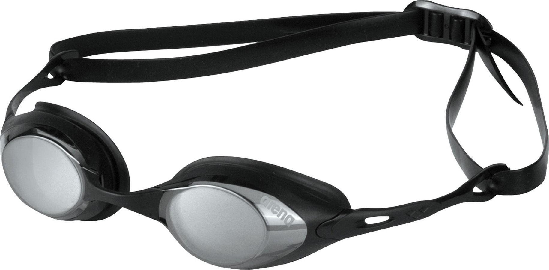Arena wedstrijd zwembril Cobra Mirror Smoke/Silver/ Black