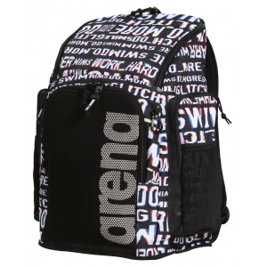 Arena rugtas Team Backpack 4 Allover neon-glitch