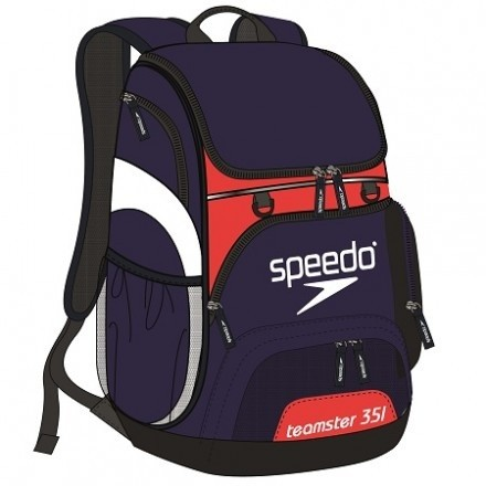 Speedo Teamster Backpack Navy